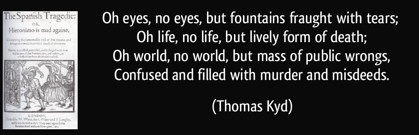 Kyd quote
