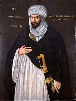 Abd el-Ouahed ben Messaoud ben Mohammed Anoun (Arabic: عبد الواحد بن مسعود بن محمد عنون) was principal secretary to the Moroccan ruler Mulay Ahmad al-Mansur, and ambassador to the court of Queen Elizabeth I of England