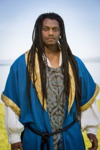 Dameion Brown as Othello. All photos by Steve Underwood.