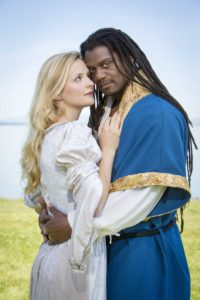 Luisa Frasconi as Desdemona with Dameion Brown.